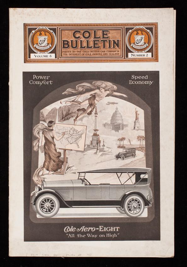 Cole Bulletin, vol. 6, no. 2, Cole Motor Car Company, Indianapolis ...