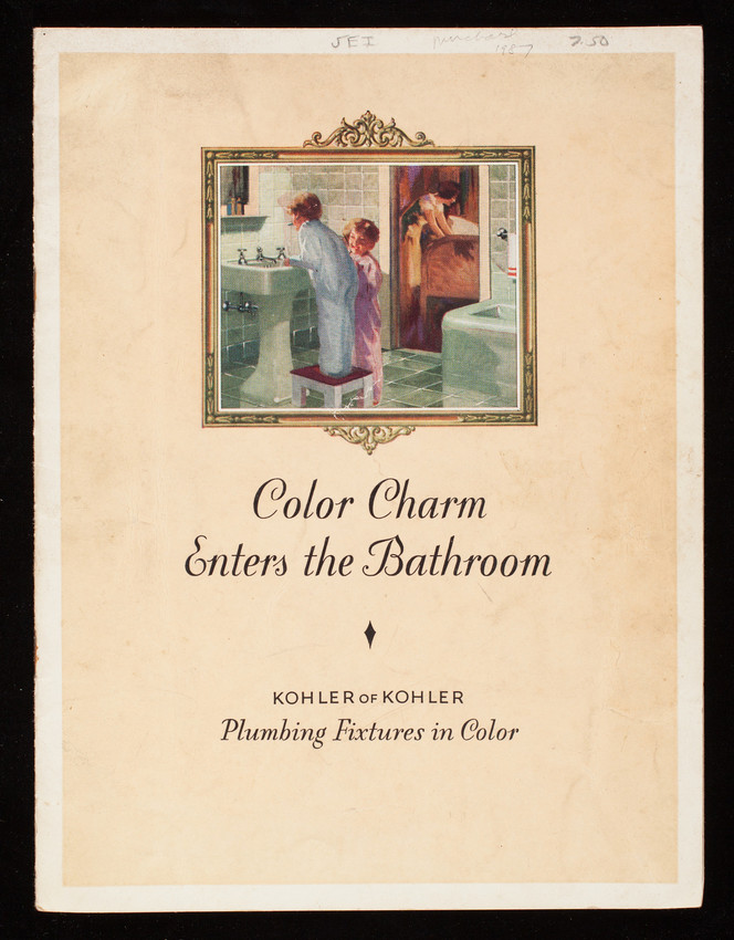 Color charm enters the bathroom, Kohler of Kohler plumbing fixtures ...