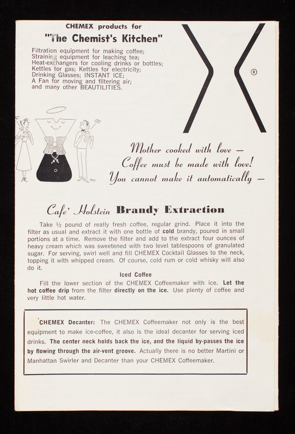Chemex Products For The Chemists Kitchen Chemex Corporation 41
