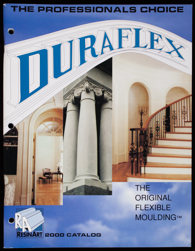 Duraflex, the original flexible moulding, ResinArt 2000 catalog
