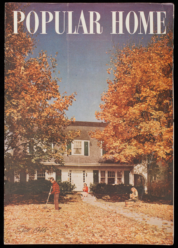 Popular home, fall 1946, volume 3, issue 7, October 1946