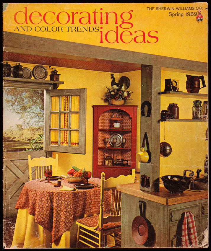 Decorating ideas and color trends, spring 1969, The Sherwin ...