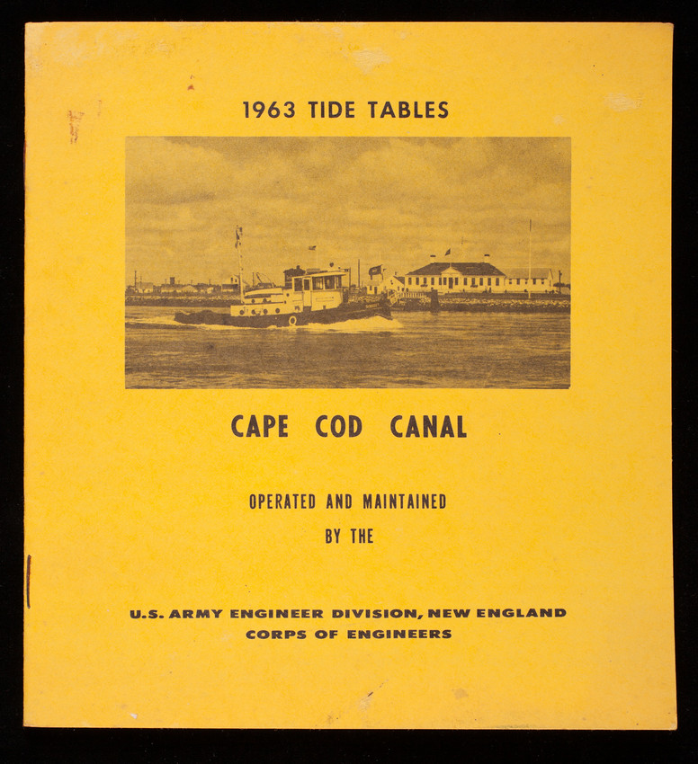 1963 Tide Tables Historic New England
