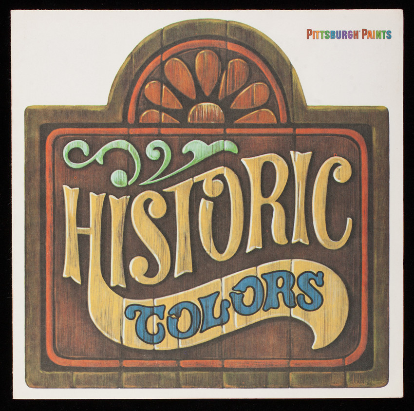 Historic Colors, Pittsburgh Paints, PPG Industries