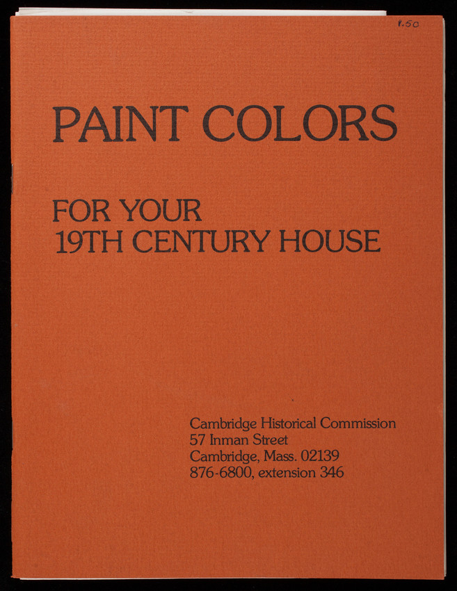 Paint colors for your 19th century house, prepared by Allison Crump