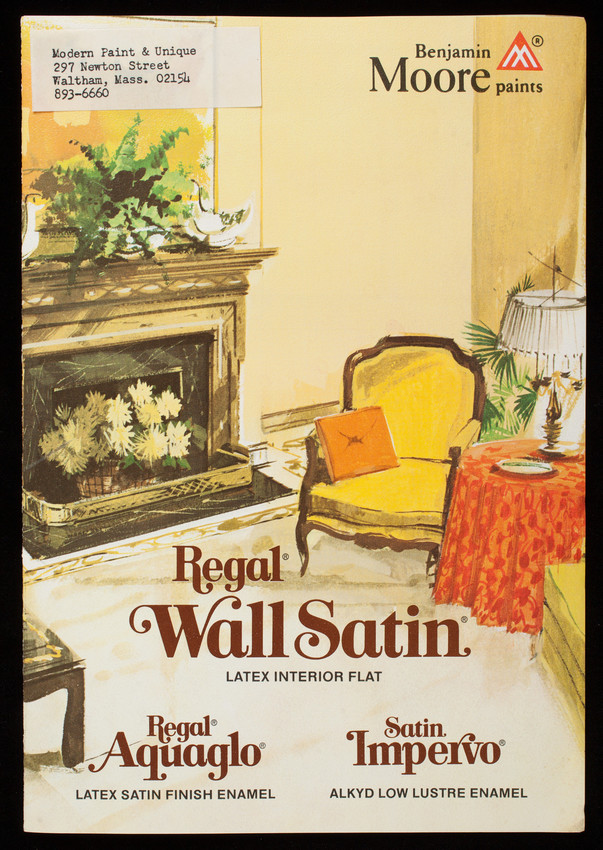 Regal Wall Satin Latex Interior Flat, Benjamin Moore U0026 Co., Montvale, New  Jersey