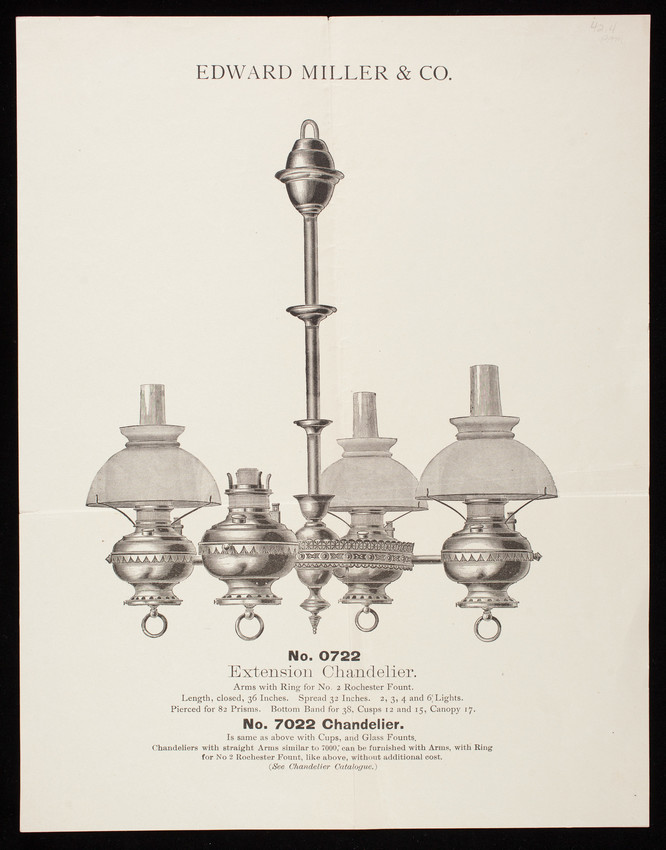 Edward Miller & Co lamp