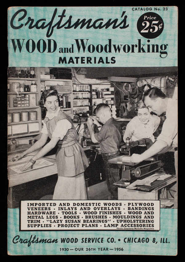 Craftsman S Wood And Woodworking Materials Catalog No 23 Craftsman Wood Service Co Chicago Illinois Historic New England