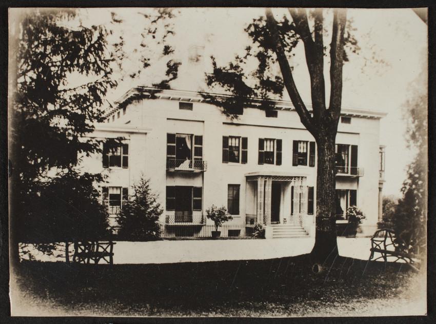 Album 43: Payson Residence, Belmont, Mass | Historic New England