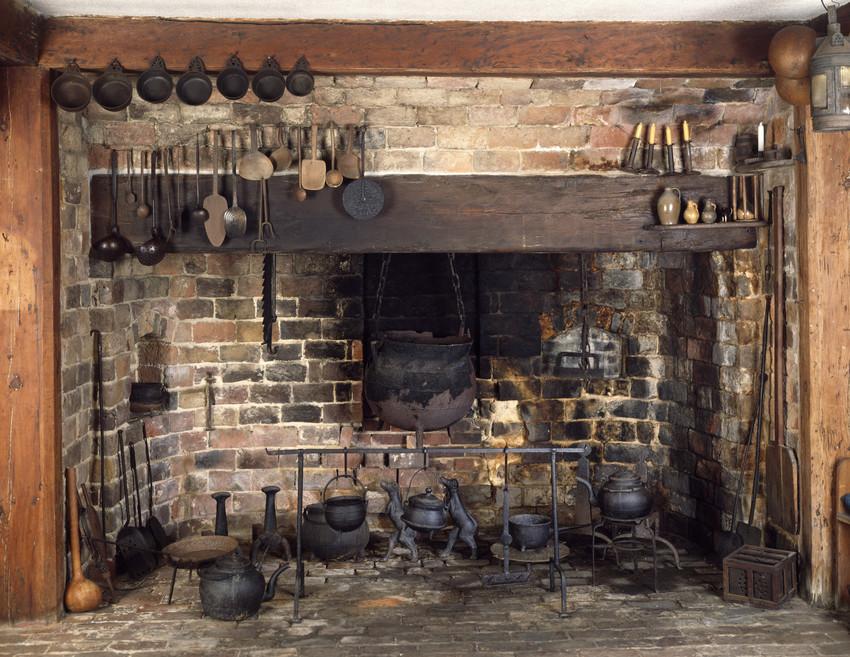 Pine Kitchen Fireplace Beauport Sleeper Mccann House