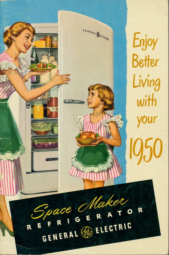 Enjoy better living with your 1950 Space Maker Refrigerator, General