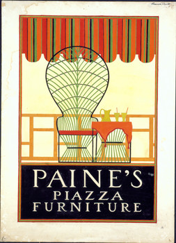 Advertising Poster For Paine S Piazza Furniture Paine