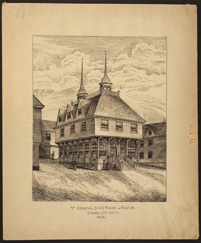 Groovy Ye Original State House In Boston Thomas Joy Architect Home Interior And Landscaping Ologienasavecom