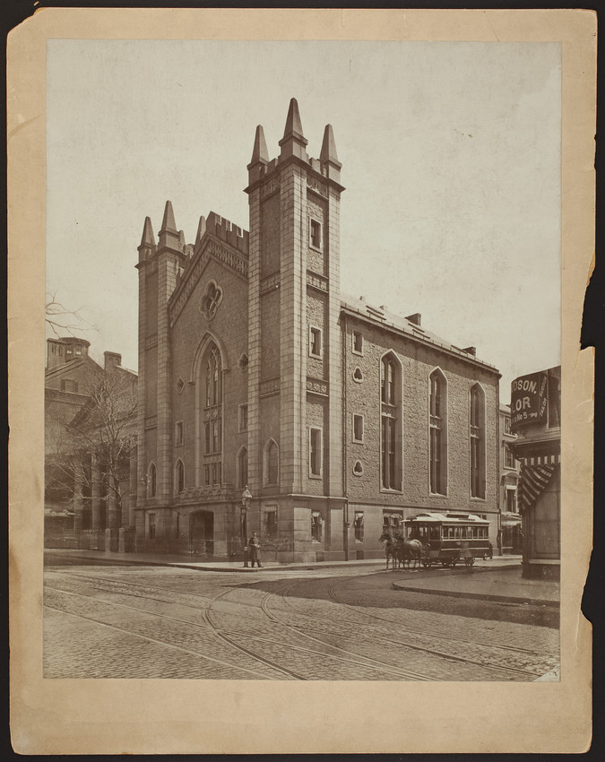 Masonic Temple, Tremont Street at Temple Place, Boston, Mass